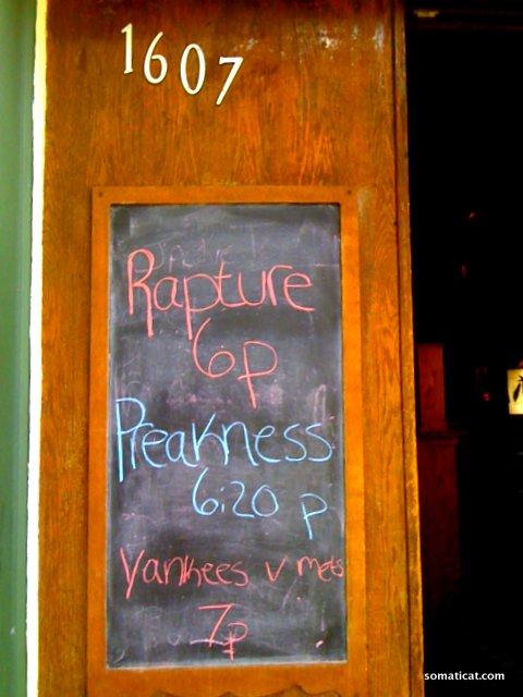 May 2011, Irish Bar